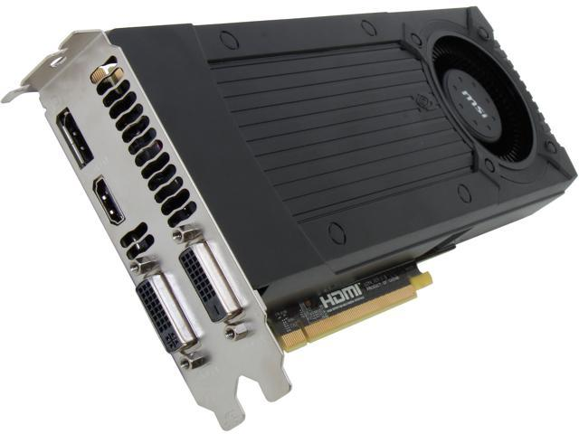 MSI N760-2GD5/OC G-SYNC Support GeForce GTX 760 2GB 256-Bit GDDR5 PCI Express 3.0 SLI Support Video Card
