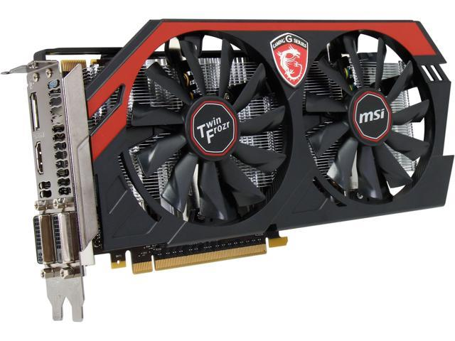MSI GeForce GTX 660 DirectX 11.1(feature level 11_0) N660 Gaming 2GD5/OC Video Card
