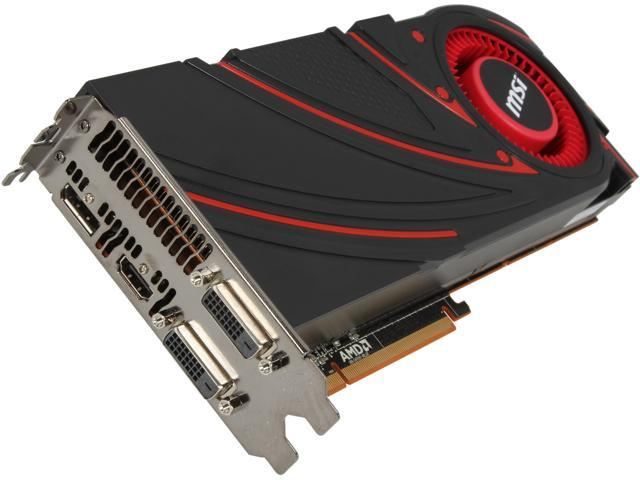 MSI Radeon R9 290 DirectX 11.2 R9 290 4GD5 (V803) 4GB 512-Bit GDDR5 PCI Express 3.0 HDCP Ready CrossFireX Support Video Card