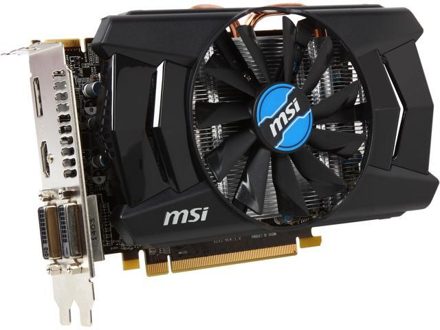 MSI Radeon R7 260X DirectX 11.2 R7 260X 2GD5 OC 2GB 128-Bit GDDR5 PCI Express 3.0 HDCP Ready CrossFireX Support Video Card