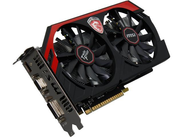 MSI GAMING N750 TF 2GD5/OC G-SYNC Support GeForce GTX 750 2GB 128-Bit GDDR5 PCI Express 3.0 x16 HDCP Ready Video Card