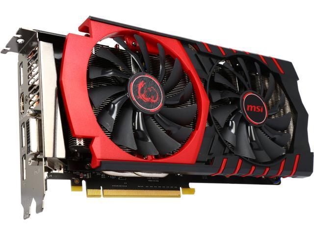 MSI GeForce GTX 960 DirectX 12 GTX 960 GAMING 2G 2GB 128-Bit GDDR5 PCI Express 3.0 x16 HDCP Ready SLI Support ATX Video Card