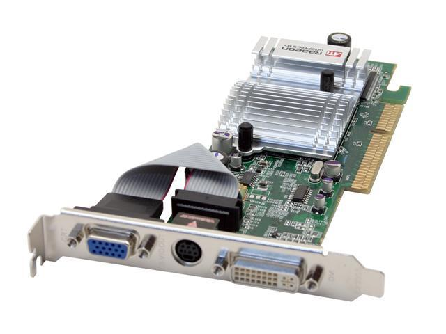 VisionTek Radeon 9550 DirectX 9 VTK 9550128A Low Profile Video Card