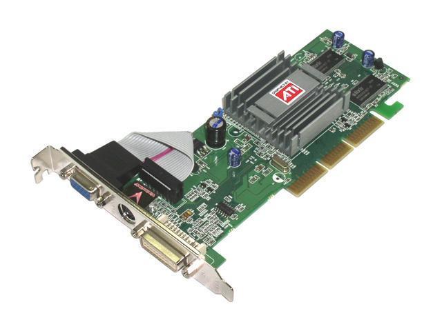 VisionTek Radeon 9250 DirectX 8 9250128A Low Profile Video Card