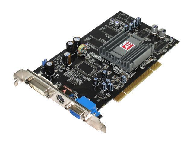 VisionTek 9 Radeon 9250 DirectX 8 9250128P 128MB 64-Bit DDR PCI Video Card