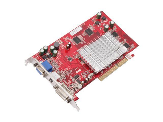 VisionTek Radeon X1050 DirectX 9 900128 256MB GDDR2 AGP 4X/8X Video Card