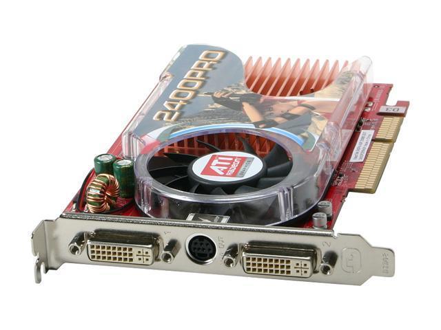 VisionTek HD 2000 Radeon HD 2400PRO DirectX 10 900175 256MB 64-Bit GDDR2 AGP 8X HDCP Ready Video Card