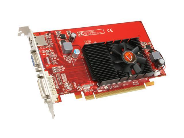 VisionTek Radeon HD 4550 DirectX 10.1 900253 512MB 64-Bit DDR3 PCI Express 2.0 x16 HDCP Ready CrossFireX Support Video Card