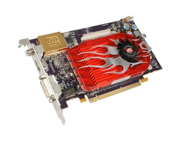 VisionTek Radeon HD 3650 DirectX 10.1 900238 512MB 128-Bit DDR2 PCI Express 2.0 x16 HDCP Ready All-in-Wonder HD Graphics and Video Card