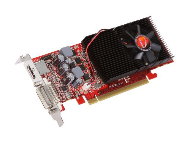 VisionTek Radeon HD 4650 DirectX 10.1 900276 1GB 128-Bit DDR2 PCI Express 2.0 x16 HDCP Ready Low Profile Ready Video Card