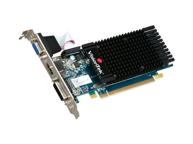 VisionTek Radeon HD 5450 (Cedar) DirectX 11 900311 512MB 64-Bit DDR3 PCI Express 2.1 x16 HDCP Ready Video Card