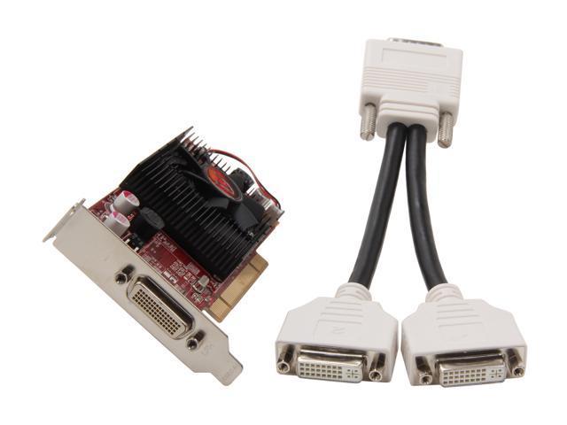VisionTek Radeon HD 3450 DirectX 10.1 900292 512MB 64-Bit DDR2 PCI Low Profile Ready Video Card