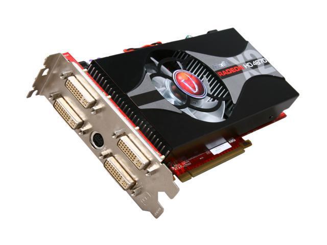 VisionTek HD 4000 Radeon HD 4670 X2 DirectX 10.1 900307 2GB 128-Bit DDR3 PCI Express 2.0 x16 HDCP Ready Video Card