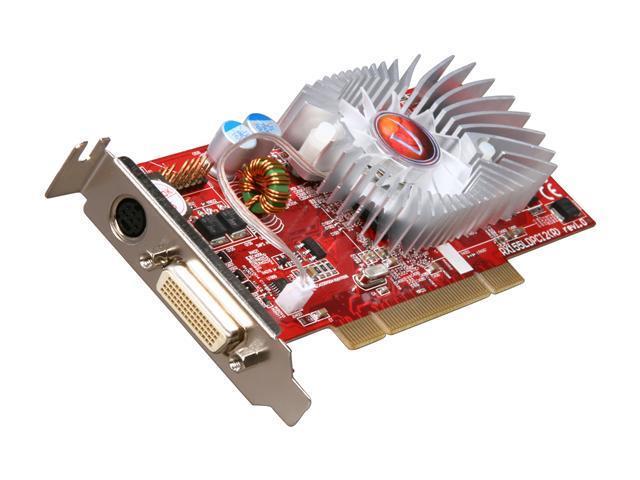 VisionTek Radeon X1300 DirectX 9 VTK X1300DMSPCI 256MB 128-Bit GDDR2 PCI Low Profile Ready Low Profile Video Card