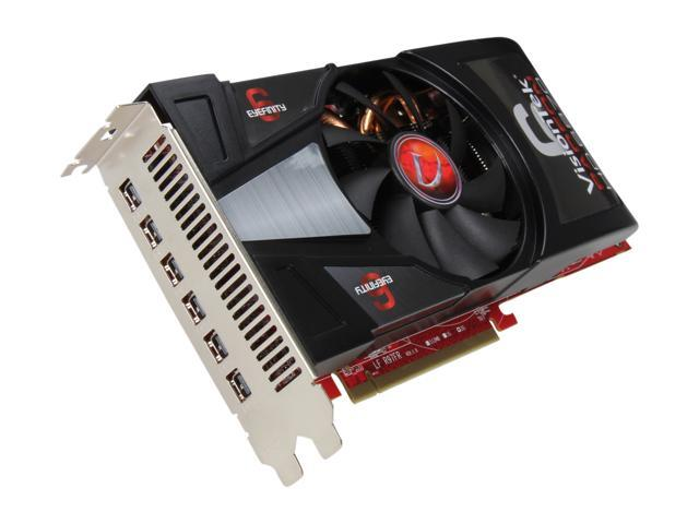 VisionTek Radeon HD 6870 DirectX 11 900373 2GB 256-Bit GDDR5 PCI Express 2.1 x16 CrossFireX Support Video Card with Eyefinity