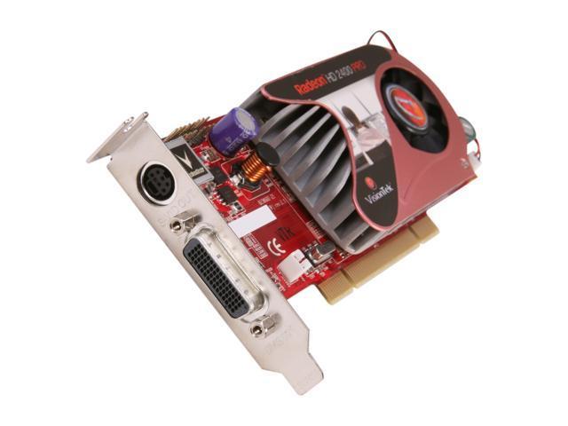 VisionTek Radeon HD 2400PRO 2400PCIDMS Video Card