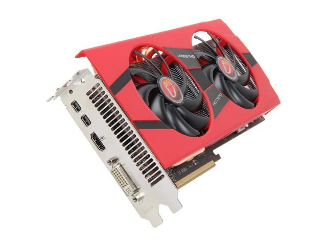 VisionTek Radeon HD 7970 GHz Edition DirectX 11 900557 3GB 384-Bit GDDR5 PCI Express 3.0 x16 HDCP Ready CrossFireX Support Video Card