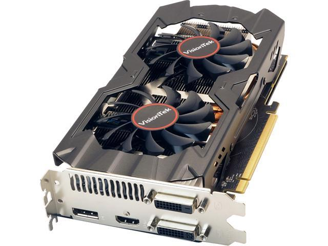 VisionTek Radeon R9 380 DirectX 12 900808 2GB 256-Bit GDDR5 PCI Express 3.0 x16 CrossFireX Support Video Card