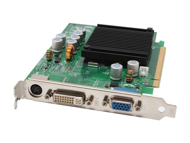EVGA GeForce 6200TC DirectX 9 128-TC-2N23-S2 Supporting 256MB (On board 128MB) 64-Bit GDDR2 PCI Express x16 Video Card