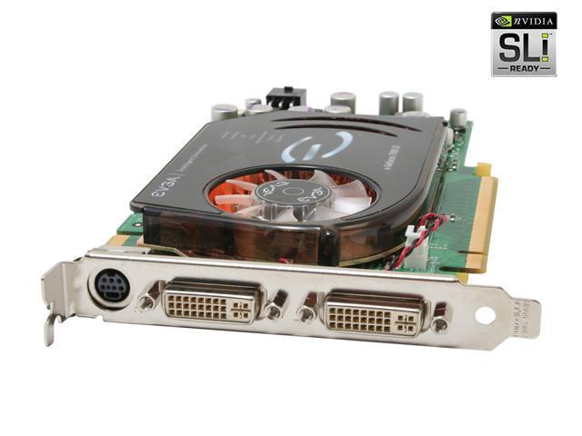 EVGA GeForce 7900GT DirectX 9 256-P2-N564-AX Video Card