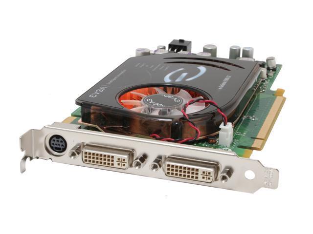 EVGA GeForce 7900GT DirectX 9 256-P2-N569-SG 256MB 256-Bit GDDR3 PCI Express x16 SLI Support Signature Series Video Card