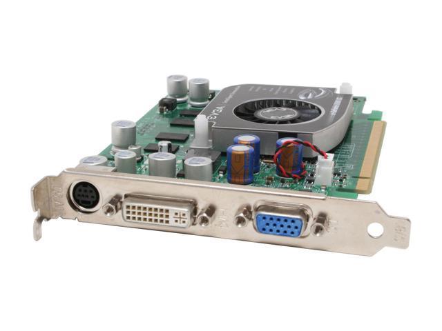 EVGA GeForce 7600GS DirectX 9 256-P2-N541-TX 256MB 128-Bit GDDR2 PCI Express x16 SLI Support Video Card