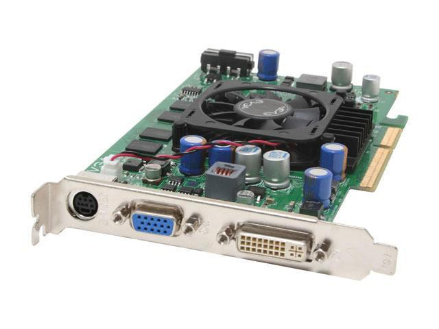EVGA GeForce 7600GS DirectX 9 256-A8-N542-AX 256MB 128-Bit GDDR2 AGP 4X/8X Video Card
