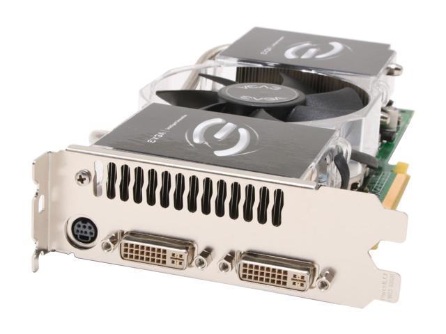 EVGA GeForce 7900GTX DirectX 9 512-P2-N571-AR 512MB 256-Bit GDDR3 PCI Express x16 SLI Support Video Card