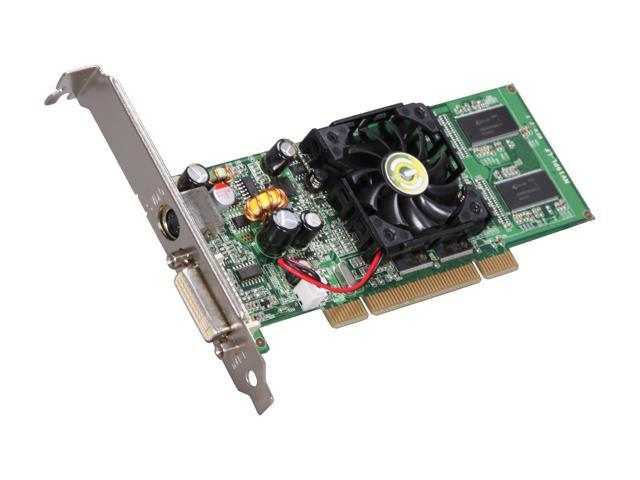 EVGA GeForce FX 5200 DirectX 9 128-P1-N309-LX 128MB 64-Bit DDR PCI Video Card