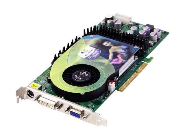 EVGA GeForce 6800 DirectX 9 128-A8-N343-AX Video Card