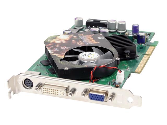 EVGA GeForce 6600GT DirectX 9 128-A8-N350 128MB 128-Bit GDDR3 AGP 4X/8X Video Card