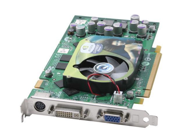EVGA GeForce 6800 DirectX 9 256-P2-N383-TX 256MB 256-Bit DDR PCI Express x16 SLI Support Video Card