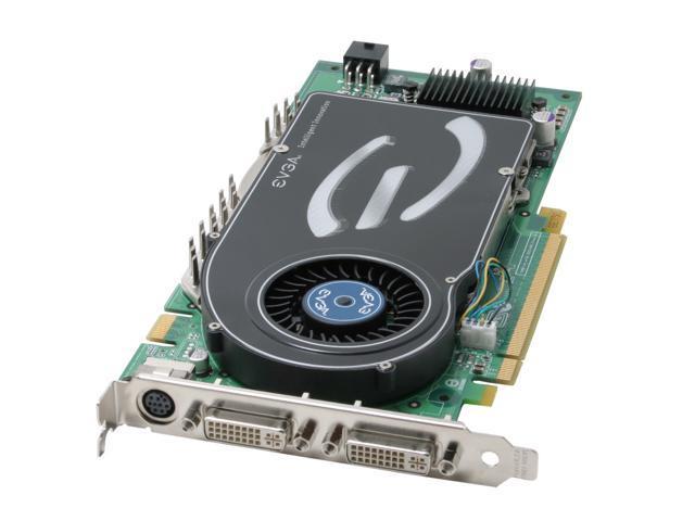 EVGA GeForce 7800GTX DirectX 9 256-P2-N528-AX Video Card