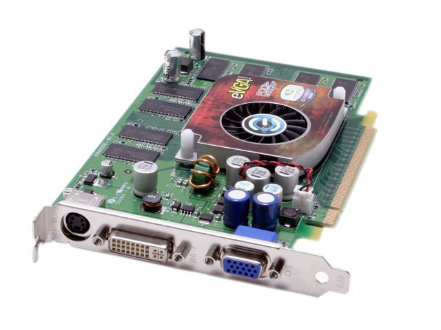 EVGA GeForce 6600LE DirectX 9 128-P2-N354-TX 128MB 128-Bit DDR PCI Express x16 SLI Support Video Card