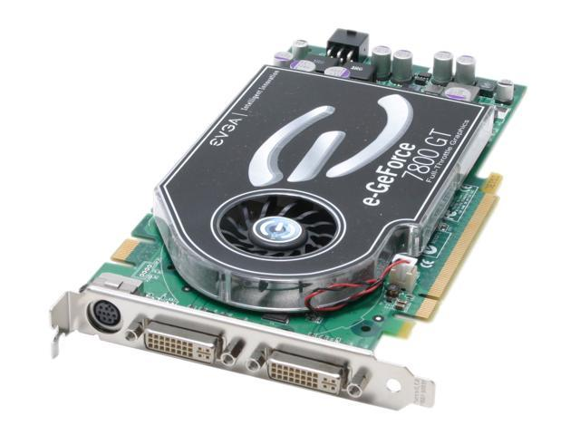 EVGA GeForce 7800GT DirectX 9 256-P2-N515-AX Video Card
