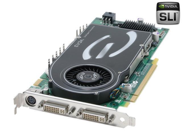 EVGA GeForce 7800GTX DirectX 9 256-P2-N525-AX 256MB 256-Bit GDDR3 PCI Express x16 SLI Support Video Card