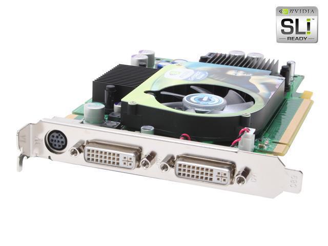 EVGA GeForce 6600GT DirectX 9 256-P2-N420-AX 256MB 128-Bit GDDR3 PCI Express x16 SLI Support Video Card
