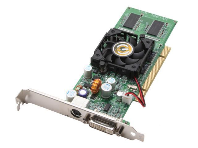 EVGA GeForce FX 5500 DirectX 9 128-P1-N320-LX 128MB 64-Bit DDR PCI Low Profile Video Card