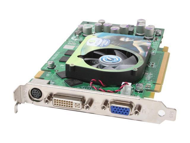 EVGA GeForce 6800XT DirectX 9 256-P2-N381-TX 256MB 256-Bit DDR PCI Express x16 SLI Support Video Card