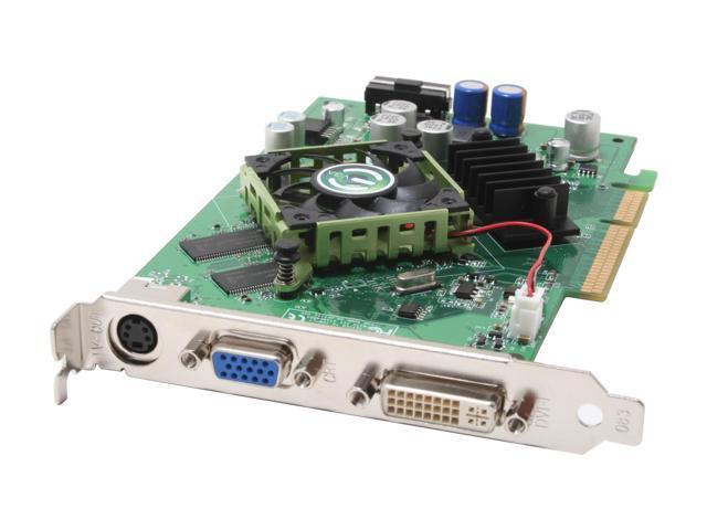 EVGA GeForce 6600LE DirectX 9 256-A8-N330-LX Video Card