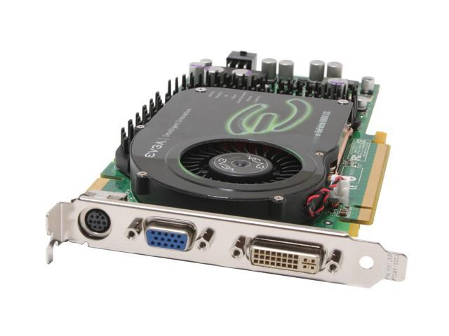 EVGA GeForce 6800GS DirectX 9 256-P2-N391-AX 256MB 256-Bit GDDR3 PCI Express x16 SLI Support Video Card
