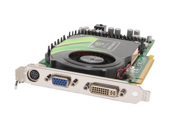 EVGA GeForce 6800GS DirectX 9 256-P2-N386-AX Video Card
