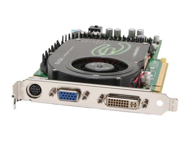 EVGA 256-P2-N389-AX GeForce 6800GS 256MB 256-bit GDDR3 PCI Express x16 SLI Supported Video Card