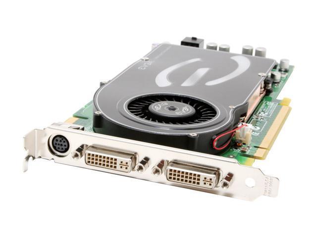 EVGA GeForce 7800GT DirectX 9 256-P2-N519-AX 256MB 256-Bit GDDR3 PCI Express x16 SLI Support Video Card