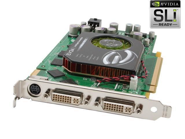 EVGA GeForce 7900GT DirectX 9 256-P2-N565-AX 256MB 256-Bit GDDR3 PCI Express x16 SLI Support Video Card
