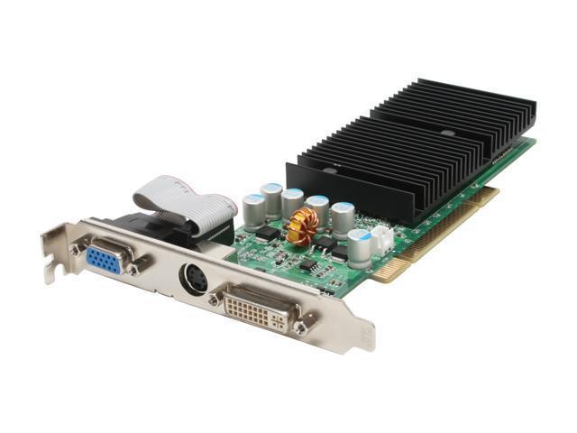 EVGA GeForce 6200 DirectX 9 256-P1-N399-LX 256MB 64-Bit GDDR2 PCI Video Card
