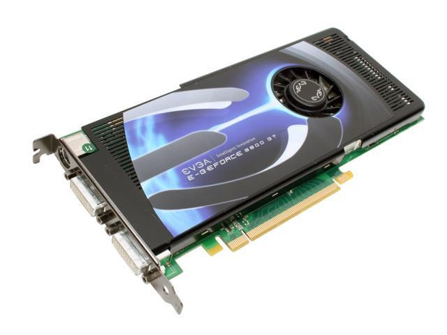 EVGA 512-P3-N802-A3 GeForce 8800GT 512MB 256-bit GDDR3 PCI Express 2.0 x16 HDCP Ready SLI Supported Video Card