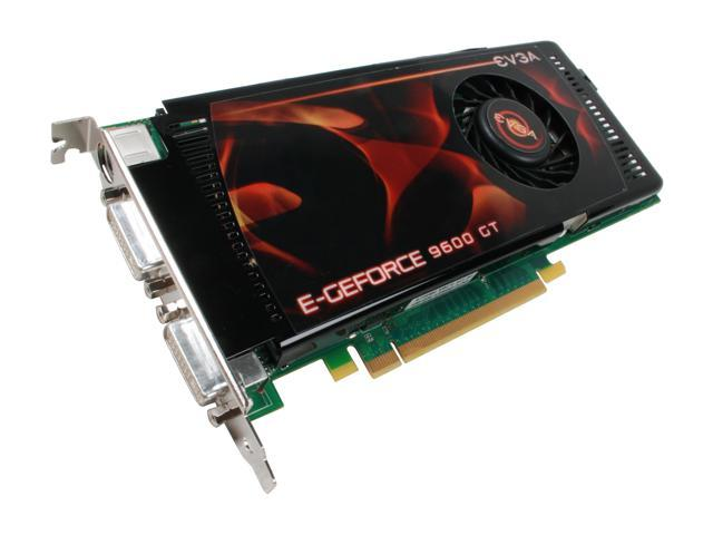 EVGA GeForce 9600 GT DirectX 10 512-P3-N865-AR Video Card