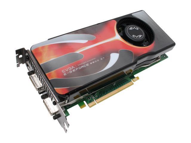 EVGA 512-P3-N807-AR GeForce 8800GT AKIMBO 512MB 256-bit GDDR3 PCI Express 2.0 x16 HDCP Ready SLI Supported Video Card