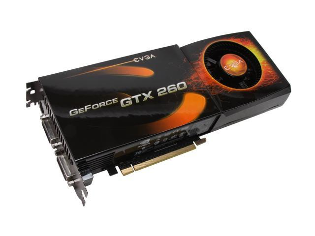 EVGA GeForce GTX 260 DirectX 10 896-P3-1266-AR Video Card